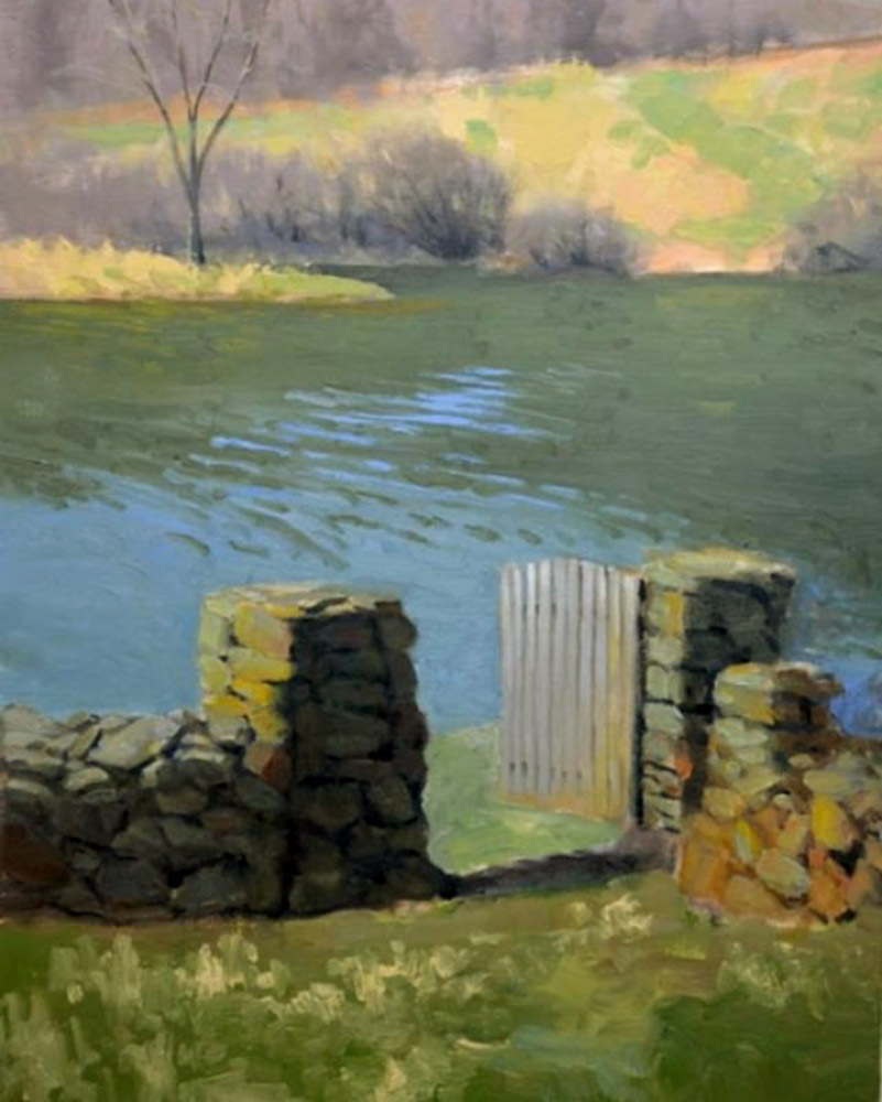 "Early Spring    24"" x 18"" Oil   Gallery Price:  $4,400    Sale Price:  $2,200"