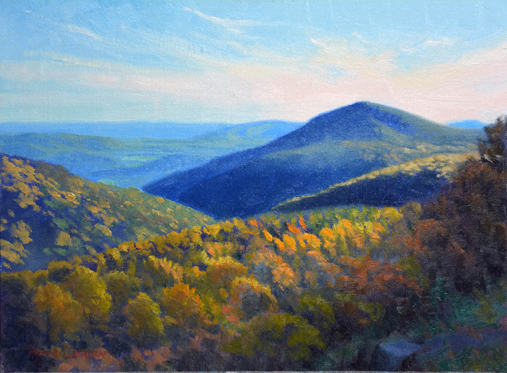 "Afternoon in the Blue Ridge   12"" x 16"" Oil   Gallery Price:  $2,600    Sale Price:  $1,300"
