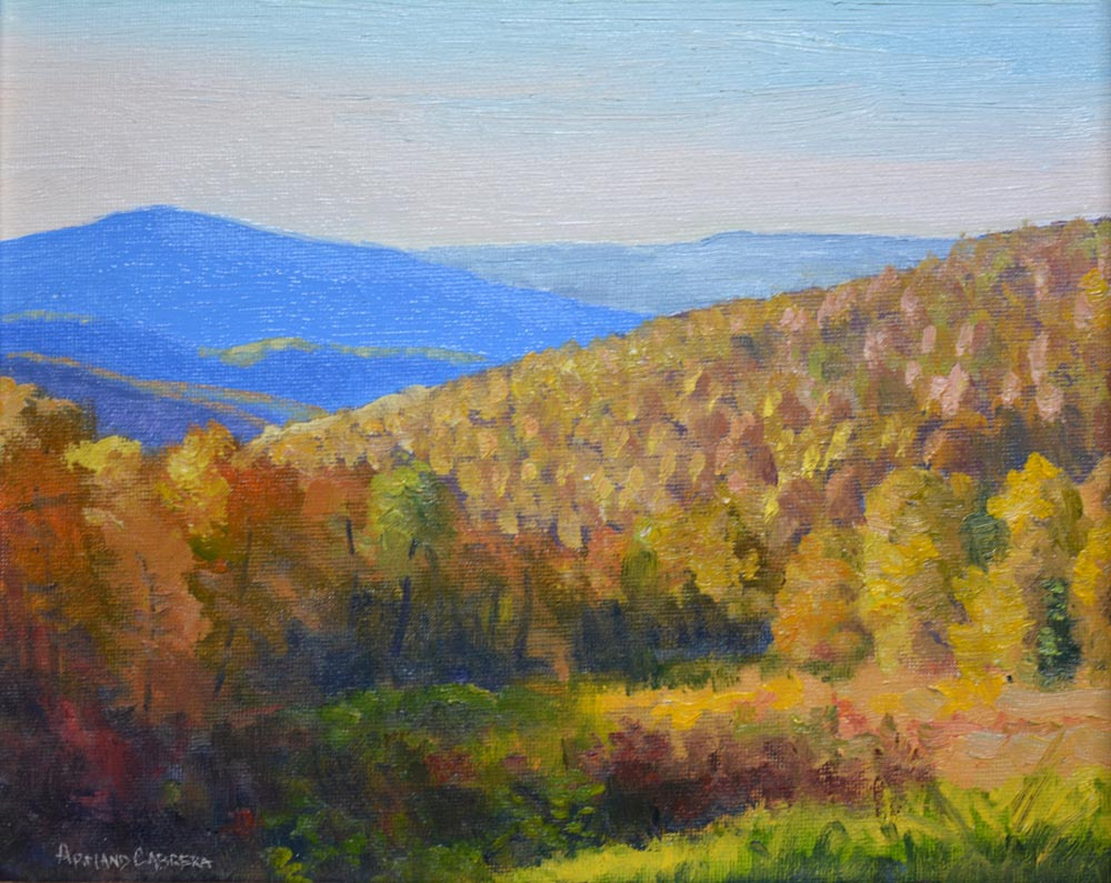 "Autumn Majesty    8"" x 10"" Oil    Gallery Price :  $1,400   Sale Price:  $700"