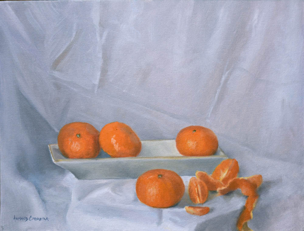 "Clementines     12"" x 16"" Oil   Gallery Price:  $2,600    Sale Price:  $1,300"