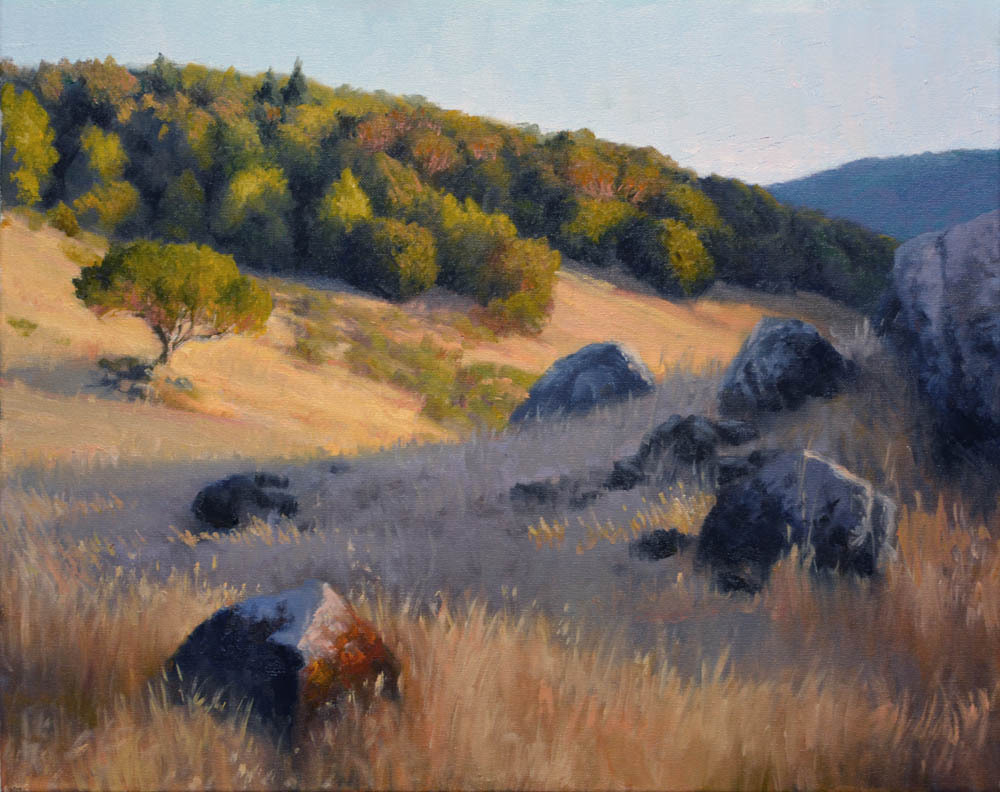 "Evening Miwok Meadows   20"" x 24"" Oil   Gallery Price:  $4,600   Sale Price:  $2,300"