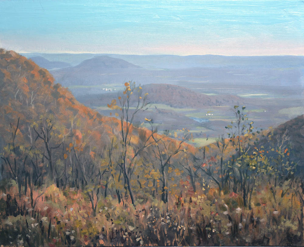 "Jenkins Gap    16"" x 20"" Oil   Gallery Price:  $3,800   Sale Price:  $1,900"
