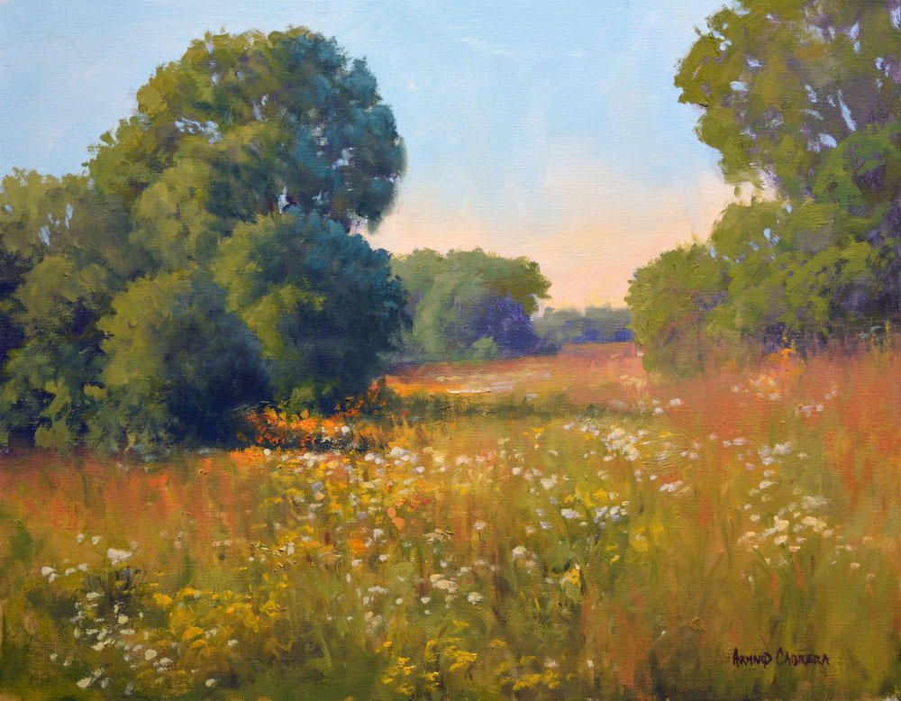 "Spring Pastures   16"" x 20"" Oil   Gallery Price:  $3,800   Sale Price:  $1,900"