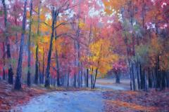 "Autumn Glory  12"" x 16"" Oil   Gallery Price:  $2,600    Sale Price:  $1,300"