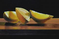 "Lemon      9"" x 12"" Oil   Gallery Price:  $1,800    Sale Price:  $900"