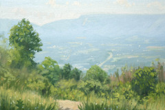 "Pass Mountain Overlook Summer    9"" x 12"" Oil   Gallery Price:  $1,800    Sale Price:  $900"