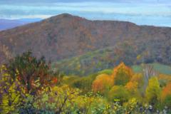 "Rainy Day Pass Mountain   9"" x 12"" Oil   Gallery Price:  $1,800    Sale Price:  $900"