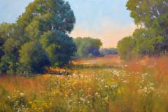 "Spring Pastures   16"" x 20"" Oil   Gallery Price:  $3,800   Sale Price:  $1,900"