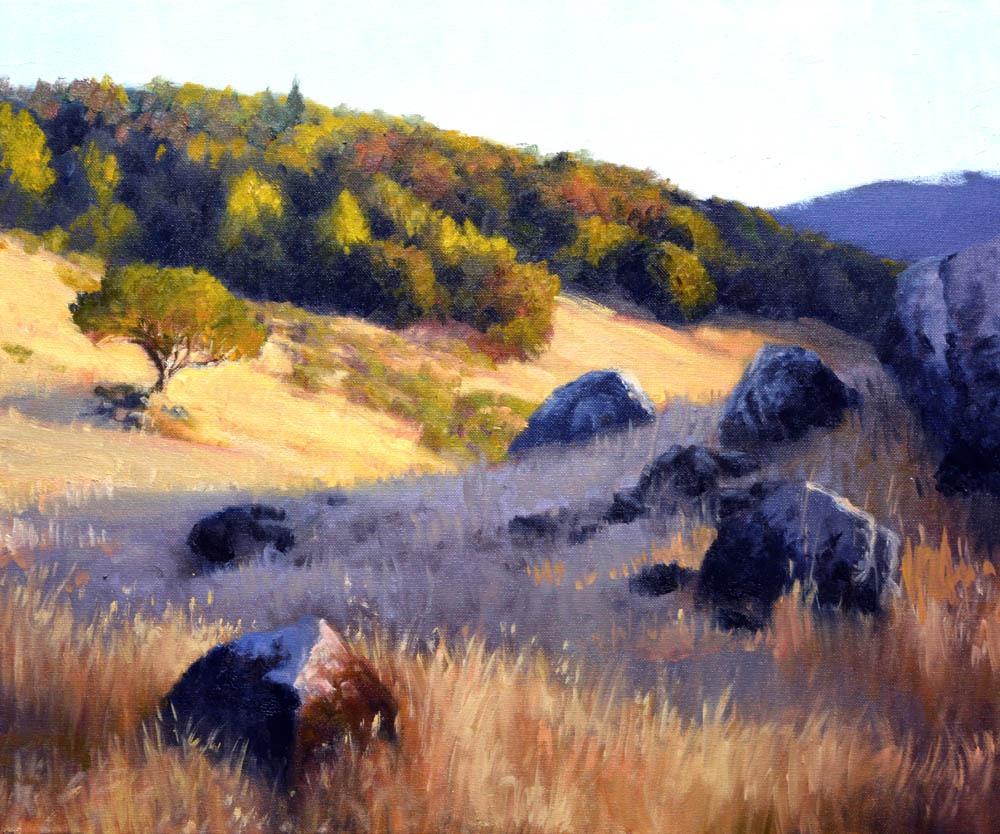"""Miwok Meadows -  20"""" x 24"""" Oil   -  $4,600"""