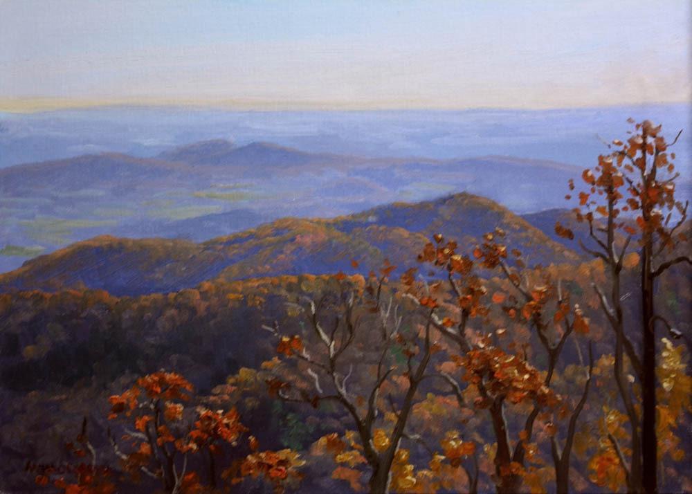 """Range View Overlook    12"""" x 16"""" Oil     - $2,600"""