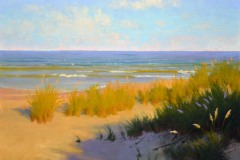 "Chesapeake Sea Oats  - 12"" x 16""  -  $2,600"