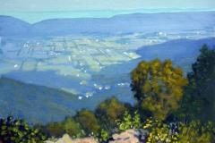 "Morning Franklin Cliffs Overlook    11"" x 14"" Oil   -   $2,400"
