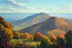 "Above Old Rag    12"" x 16"" Oil   -  $2,600"