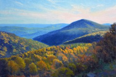 "Afternoon in the Blue Ridge   12"" x 16"" Oil    -  $2,600"