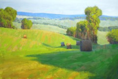 "Along Rectortown Road     24"" x 36"" Oil      $7,900"