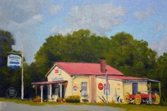 "Blue Ridge Grocery  - 11"" x 14"" Oil  -   $2,400"