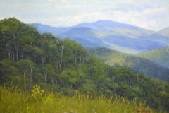 "Blueridge Spring   - 12"" x 16"" Oil    -  $2,600"