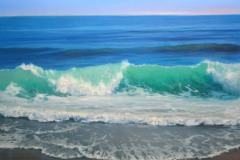 "Crashing Wave   30"" x 40"" Oil - $10,500"