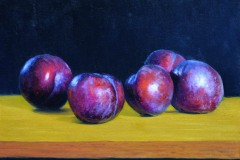 "Plums     12 "" x 16"" Oil      SOLD!"