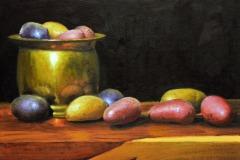 "Heirloom Potatoes     12"" x 16"" Oil      $2,600"