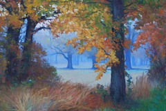 "November Morning  -  24"" x 30"" Oil  -   $6,600"
