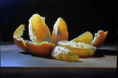 """Orange Beauty 2 -  * SOLD*   12"""" x 16"""" Oil   $2,800"""