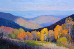 "Peak of Autumn   - 11"" x 14"" Oil  -  $2,400"