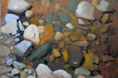 """River's Edge    11"""" x 14"""" Oil  -   $2,400"""