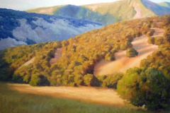 "Warm August Evening     30"" x 40"" Oil      $10,500"