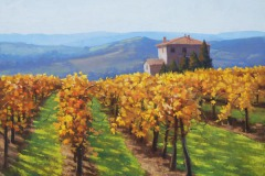 "Autumn Vine Tuscany    20"" x 24""    $4,600"