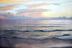 "Summer Evening    36"" x 48"" Oil   $12,000"
