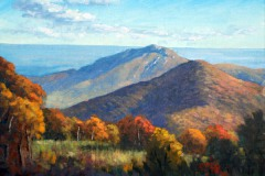 "Above Old Rag    12"" x 16"" Oil   $2,600"
