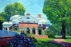 "Midday Monticello   12"" x 16"" Oil   $2,600"