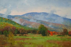 "Rising Mists   12"" x 16"" Oil   $2,600"