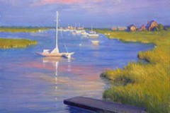 "Madaket Evening   24"" x 20"" Oil  $4,400"