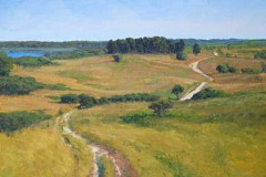 "Sanford Farm Overlook   16"" x 20"" Oil   $3,400"