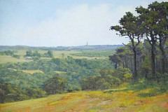 "Sankaty Light from Milestone Road   12{"" x 16"" Oil   $2,200"