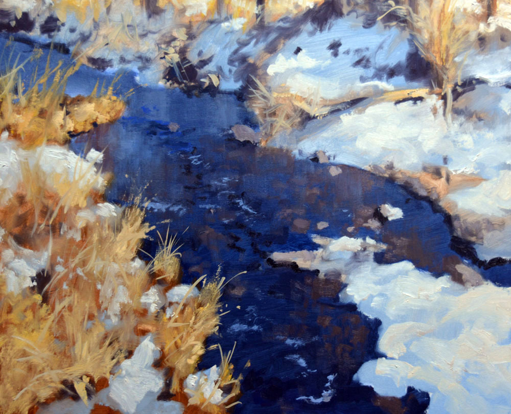 """Crystal Waters   *  SOLD! *  16"""" x 20"""" Oil     $3,800"""