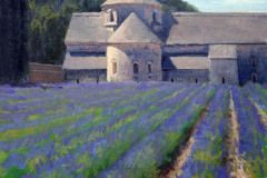 "Senanque Abbey Lavender   9"" x 12"" Oil    $1,800"