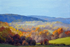 "Autumn Crooked Run Valley     9"" x 12"" Oil     $1,800"