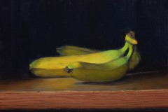 "Bananas    9"" x 12"" Oil    $1,800"