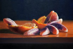 "Blood Orange   12"" x 16"" Oil    $2,600"