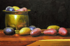 "Heirloom Potatoes    12"" x 16"" Oil    $2,600"