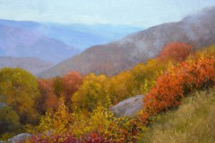 "Hemlock Springs Overlook     16"" x 20"" Oil     $3,800"