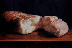 "Our Daily Bread   *  SOLD! *  12"" x 16"" Oil    $2,600"