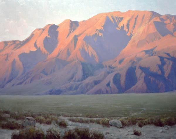 Inyo Mountains at Sunset