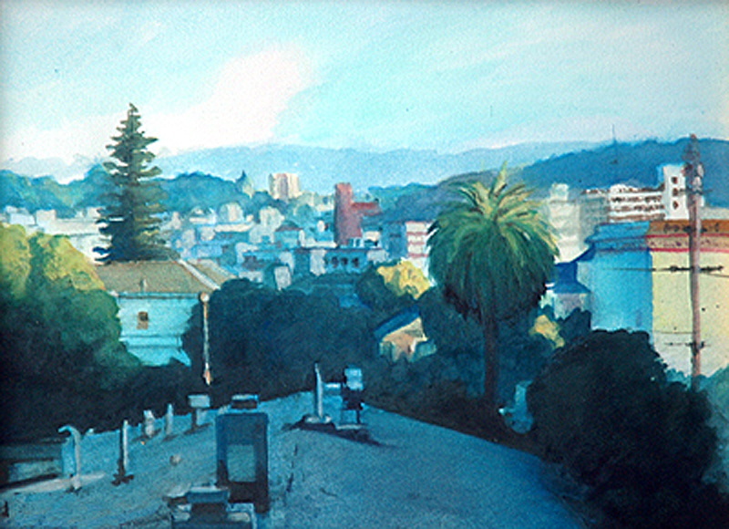 View from Pacific Heights - San Francisco