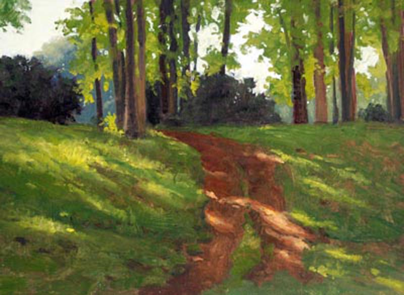 Shaded Path -   SOLD!