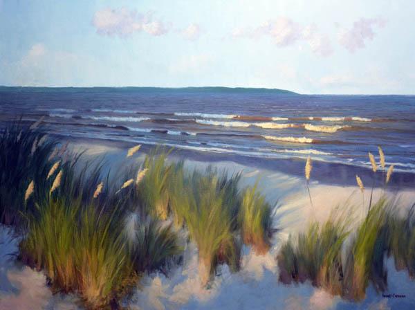 Evening East Beach - SOLD!