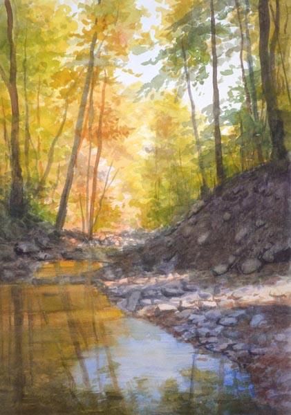 White Oak Canyon Autumn